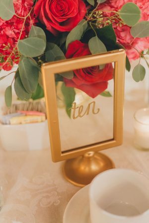 Wedding table number - OLLI STUDIO