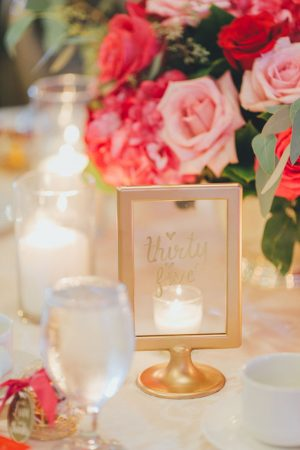 Wedding table number ideas - OLLI STUDIO