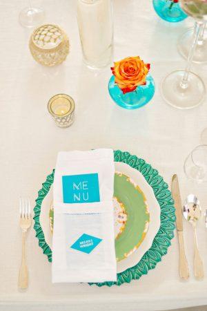 Wedding place setting - Andie Freeman Photography