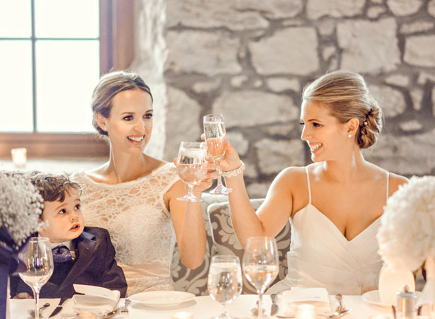 Wedding toast - Melissa Avey Photography