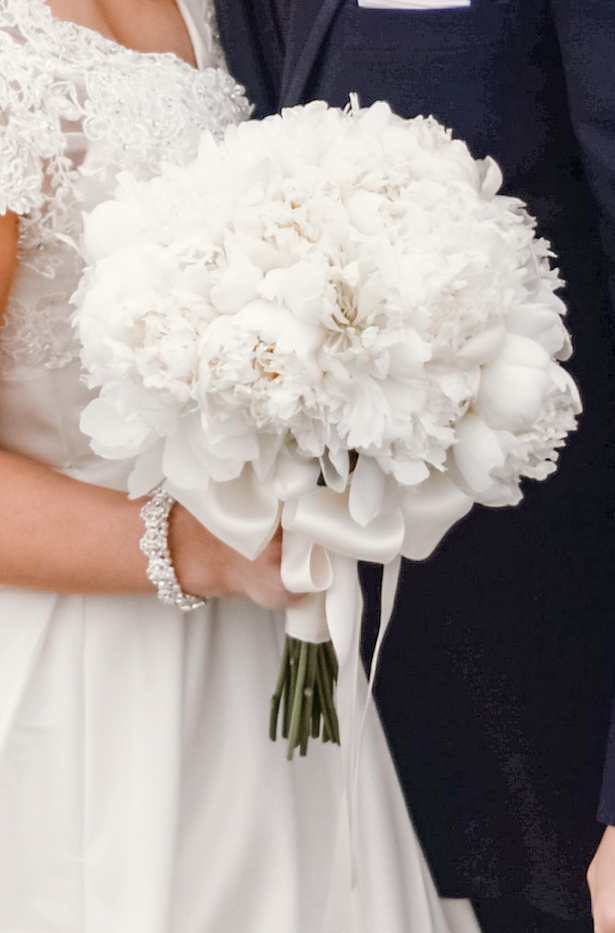 White Wedding Bouquet - Melissa Avey Photography
