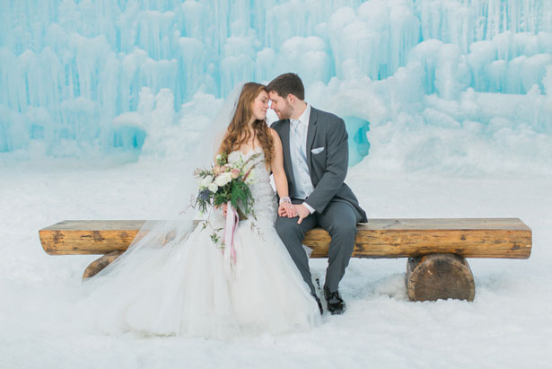 Winter wedding - Andrea Simmons Photography LLC