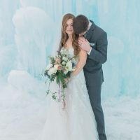 Winter wedding picture ideas - Andrea Simmons Photography LLC