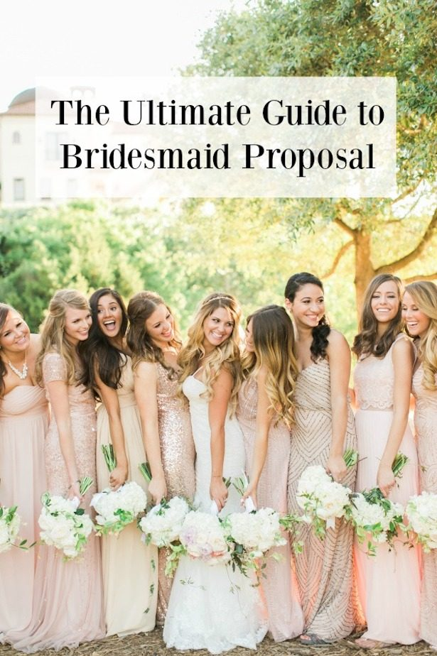 The Ultimate Guide to Bridesmaid Proposal Ideas