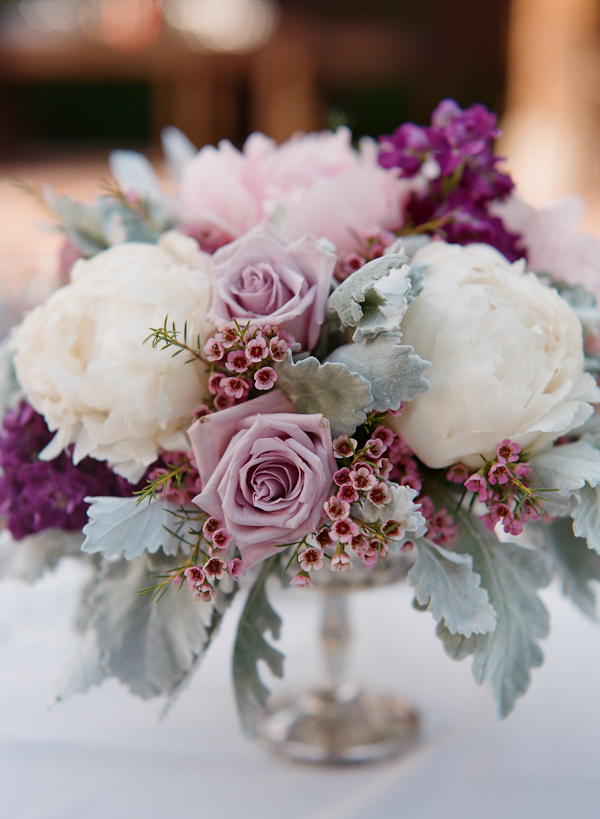 Wedding Centerpiece - Photographer: Q Weddings