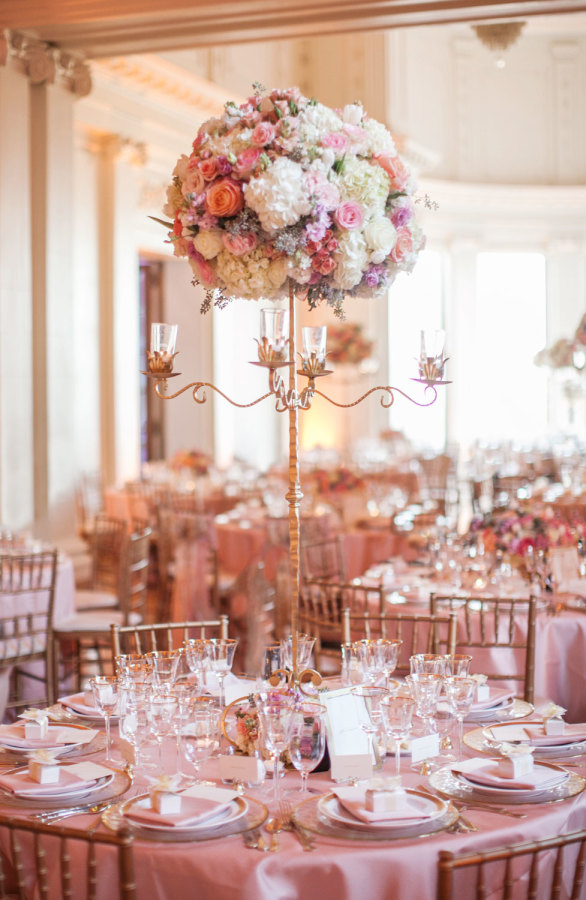 Wedding Centerpiece ~ Photography: Clane Gessel