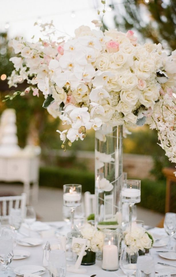 Wedding Centerpiece ~ Photography: Sylvie Gil Photography