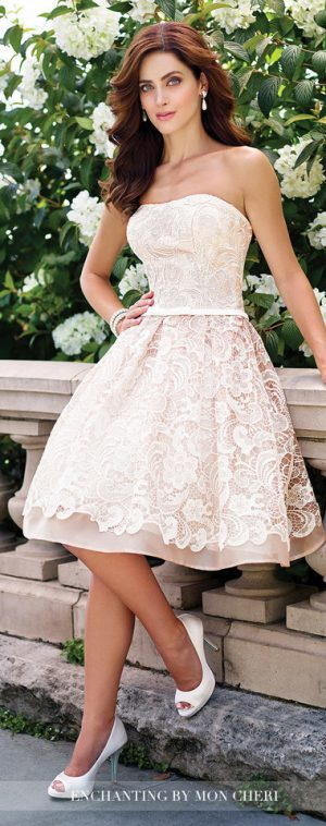Wedding Trends 2017: Blushing Bridal Gowns With Mon Cheri Bridals