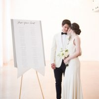 Art deco meets modern wedding - Elizabeth Nord Photography