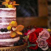 Barely there wedding cake - Aida Malik Photography