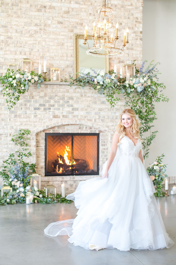 Beautiful bridal picture - Anna Holcombe Photography