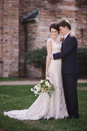 Beautiful bride and groom picture - Justin Wright Photography