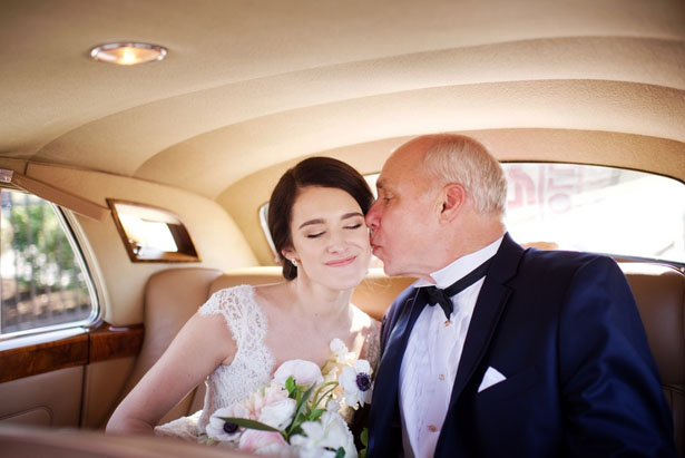 Beautiful father and bride picture - Justin Wright Photography