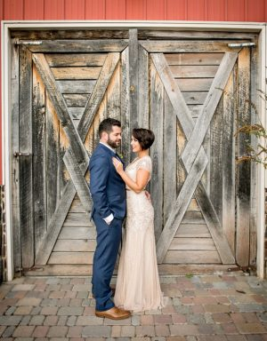 Beautiful outdoor wedding picture - Aida Malik Photography