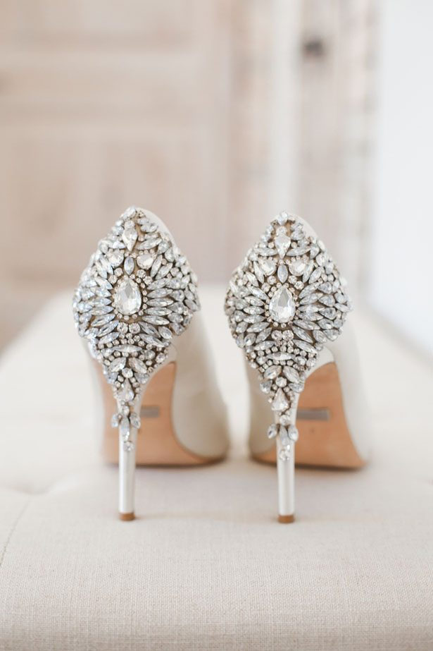 Beautiful wedding shoes - Anna Holcombe Photography