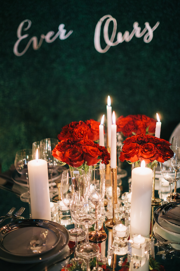 Beautiful wedding tablescape -Erika Layne Photography
