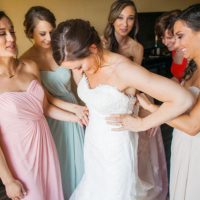 Bridal party photo - Clane Gessel Photography