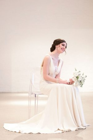 Art Deco Bridal Look - Elizabeth Nord Photography