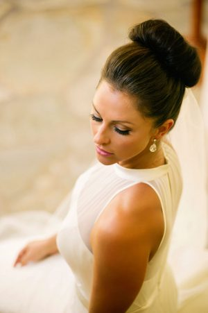 Bridal hairstyle - Jenna Leigh Wedding Photography