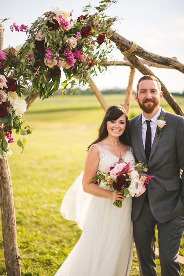 Pretty Winery Wedding Infused with Portuguese Traditions