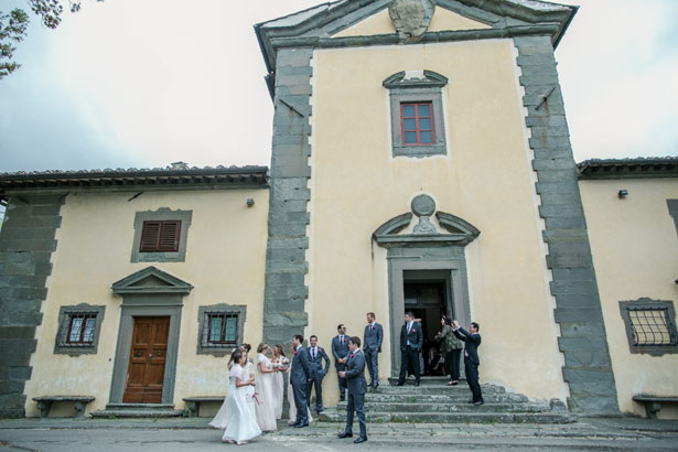 Castle chapel wedding ceremony - David Bastianoni