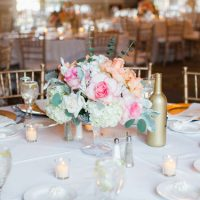 Classic wedding table-scape - Clane Gessel Photography