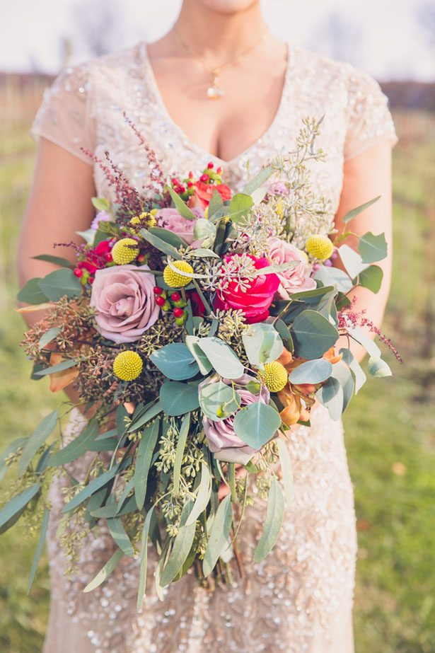 Rustic Glam Vineyard Wedding Inspiration