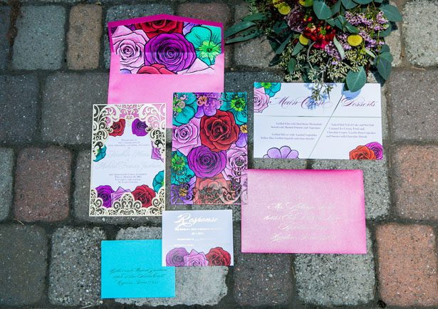 Colorful invitation suit - Aida Malik Photography