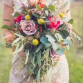 Colorful wedding bouquet - Aida Malik Photography