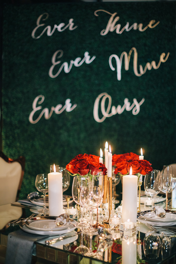 Elegant wedding decor -Erika Layne Photography