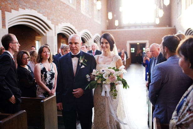 Father and bride photo - Justin Wright Photography