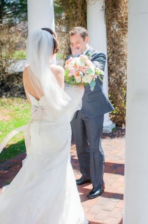 First bridal look - Clane Gessel Photography