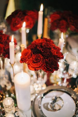 Floral centerpiece -Erika Layne Photography