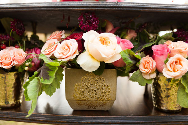 Floral wedding arrangements - Cimbalik Photography