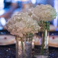 Floral wedding arrangements - Rita Wortham photography