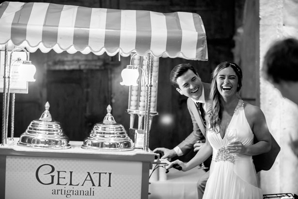 Gelato wedding cart - David Bastianoni