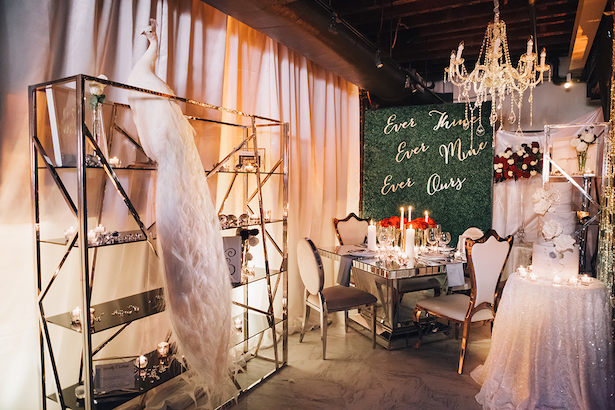 Glam Luxe wedding inspiration - Erika Layne Photography