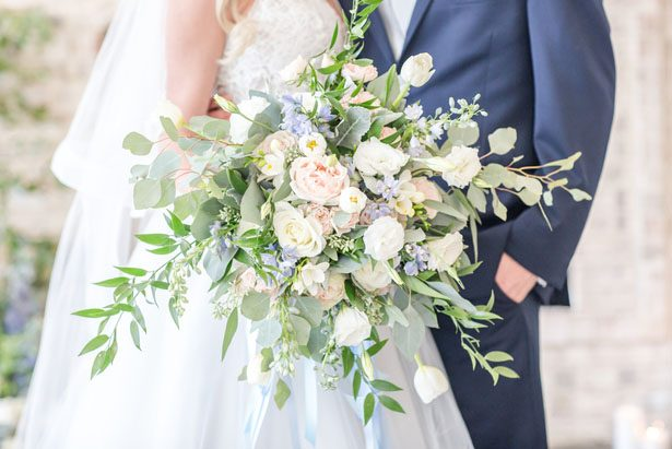 Gorgeous organic wedding bouquet - Anna Holcombe Photography