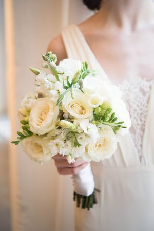 Gorgeous white wedding bouquet - Elizabeth Nord Photography