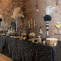 Greater gatsby wedding decor - Rita Wortham photography
