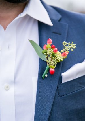 Groom boutonniere - Aida Malik Photography