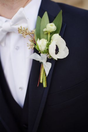 Groom boutonniere - Justin Wright Photography