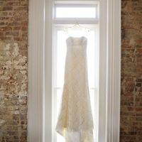 Lace wedding dress - Justin Wright Photography