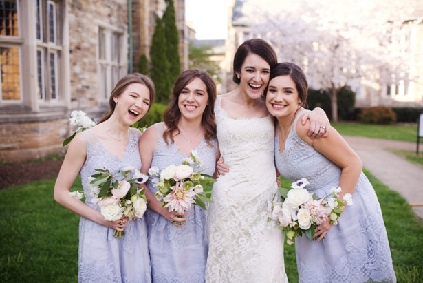 Lavender bridesmaid dresses - Justin Wright Photography