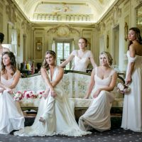 Long bridesmaid dresses - David Bastianoni
