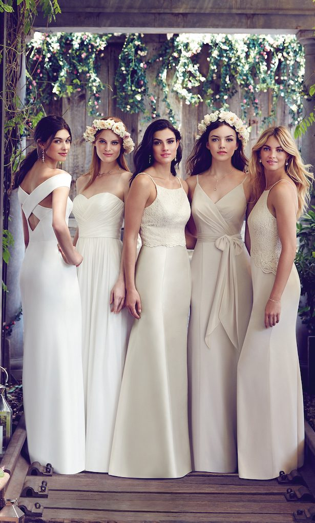 The Secrets Of Successful Mismatched Bridesmaids + a Giveaway