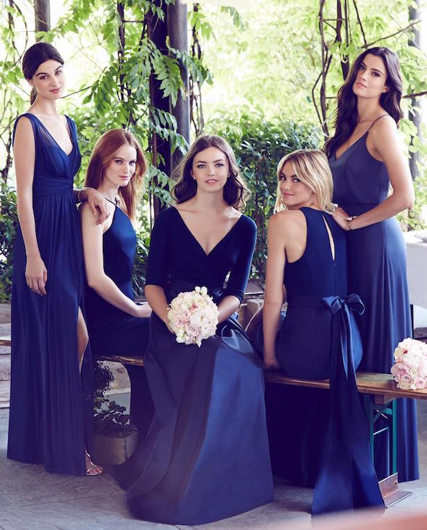 Mismatched Bridesmaid Dresses - The Dessy Group