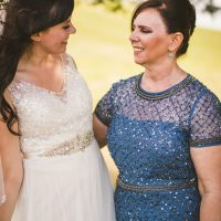 Mother and bride picture - Sam Hurd Photography