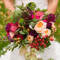 Organic bridal bouquet - Cimbalik Photography
