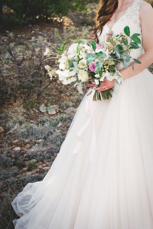 Organic wedding bouquet - Emily Joanne Wedding Films & Photography